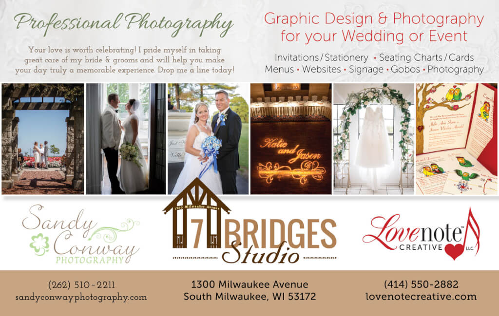 PierLightMedia-Milwaukee-WI_WeddingBrochure-SandyConwayPhotography_Ad