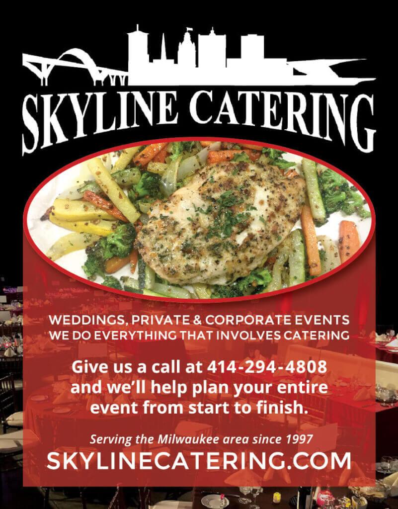 PierLightMedia-Milwaukee-WI_WeddingBrochure-SkylineCatering_Ad
