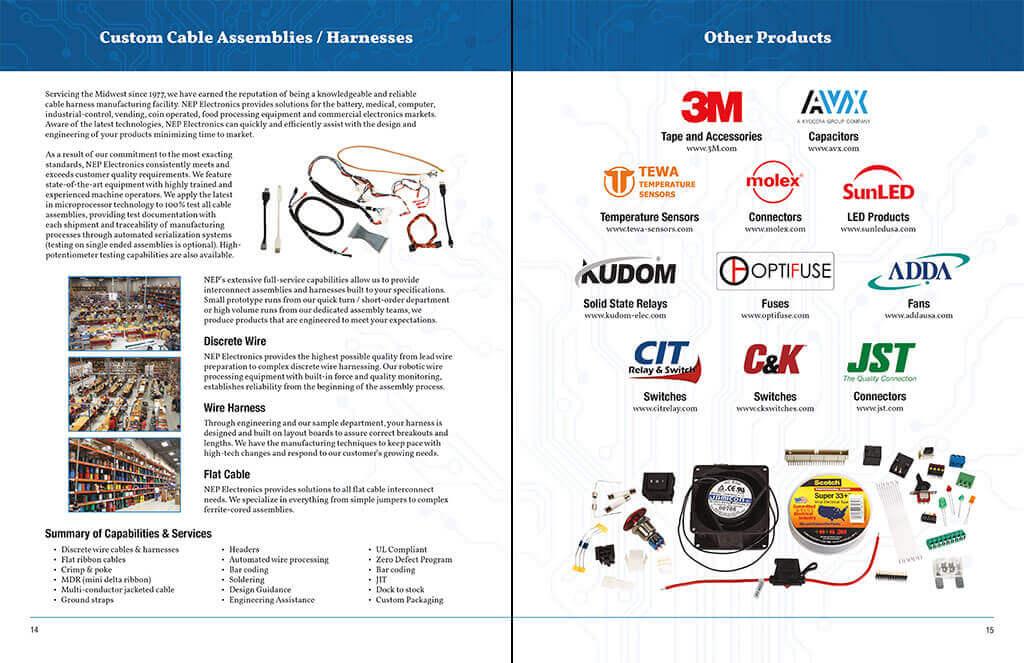 PierLightMedia_Milwaukee-WI_NEP-Electronics-Catalog_14-15