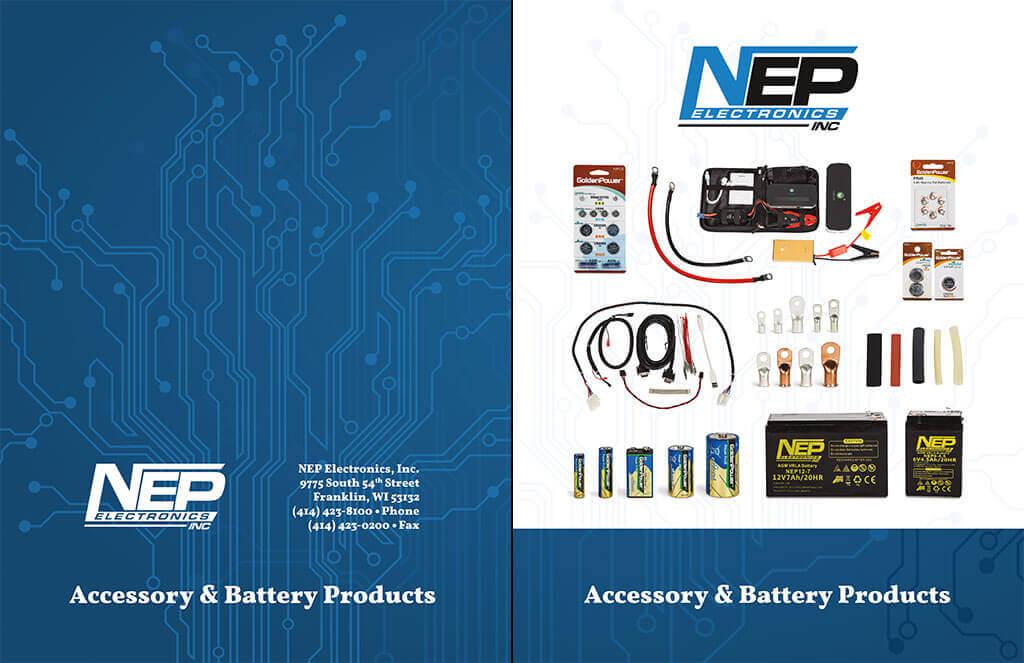 PierLightMedia_Milwaukee-WI_NEP-Electronics-Catalog_Covers