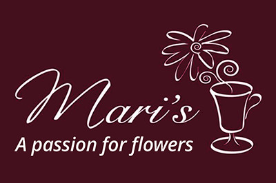 Mari's Flowers logo
